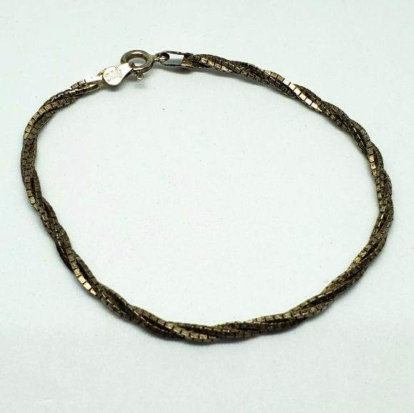 FMC 925 Rhinestone Bracelet